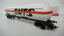 """JOUEF  """"HO""""  WAGON CITERNE SMTS    REF 6512  PLASTIQUE   1971/77    Lg 21,6 cm"""