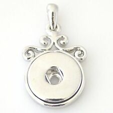 Fits Ginger Snap GINGER SNAPS PENDANT Necklace Magnolia Vine 18mm Button Charm