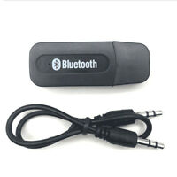 1Pc wireless usb bluetooth music audio receiver adapter 3.5mm dongle hl