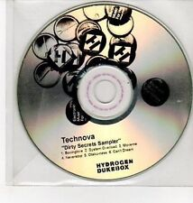 (DD92) Technova, Dirty Secrets sampler - DJ CD