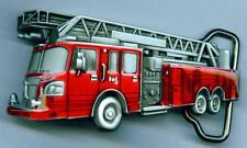 Gürtelschnalle Feuerwehr Buckle Fire Fighter Löschzug