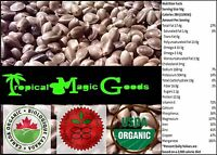 * CERTIFIED ORGANIC * 100% PURE & NATURAL CANADIAN WHOLE HEMP SEEDS * 80 grams