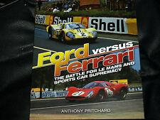 FORD v FERRARI FOR LE MANS GT40 GT GULF 250LM P3 P4 512S RINDT ICKX GURNEY FOYT