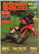 PB July 1989 Yamaha FZR600 BMW K1 Kawasaki ZX-10 DTR125 Tengai