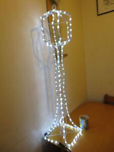 Garden Rope light lamppost Drive affect light Christmas path light Free post AO2