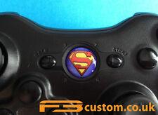 Custom XBOX 360 * Superman *  Guide button