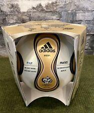 ⚽️ OMB Adidas Fußball Teamgeist Gold Finale WM 2006 Germany mit Imprint 🇩🇪