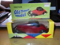 Vintage Hong Kong Lucky Toys No.9010 Old Timer 1934 Ford Plastic Friction Model