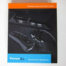 Tuact Venom X4 Mouse Controller Keyboard Adapter for PS3 PS4 XBOX 360 XBOX One