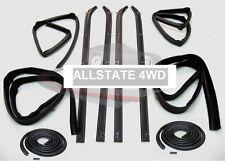 10 Piece Rubber Door Window Weatherstrip Seal Kit for 80-93 Dodge Truck D W 150