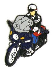 PINS MILITARIA MOTARD GENDARMERIE NATIONALE - TENUE DE PARADE