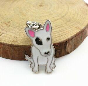 Dog Tag, Akita oder Bullterrier Anhänger für Kette, Schlüsselbund, Armband etc.