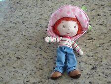 Strawberry Shortcake Stuffed Animal Plush Doll GUC