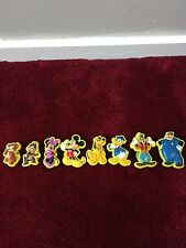 Disney Mickey Mouse Club pegar en caracteres de agarre de goma House Paquete De Juguete/Usado