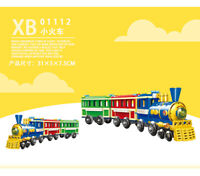 Xingbao 01112 Building Blocks Playground Amusement Park Model Easter Gifts Toys