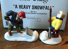 Dept 56 Accessories - Snow Village - A Heavy Snowfall (Set of 2) - IN BOX
