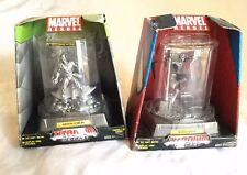Spider Man or Green Goblin DIE-CAST TITANIUM Patina figurine Marvel Hero Villian