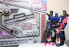 Transformers WFC Netflix ULTRA MAGNUS Leader Class + Battlefield RUNG, MISB/New