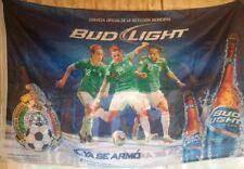 Federacion Mexicana de Futbol Soccer Flag Bud Light Beer Javier Hernandez 2010