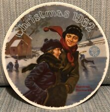 Norman Rockwell Limited Edition 1982 Christmas Courtship