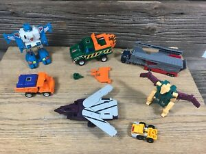 Vintage 1980s G1 Transformer Lot Takara Hasbro Parts Lot READ DESCRIPTION lot B