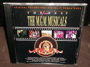The Best From The M.G.M Musicals (CD, 1990)