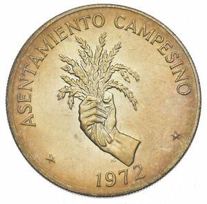 SILVER - WORLD COIN - 1972 Panama 5 Balboas - World Silver Coin *070