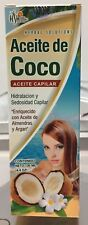 Herbal Solutions Aceite de coco para el pelo Coconut Hair Oil  Almendras y Argan