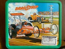DRAGSTRIP Lunch Box 1975 ALADDIN Brand - RARE Original