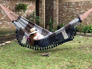 Ingalex Doble size XXL cotton hammock handmade hamaca latina tamaño familiar