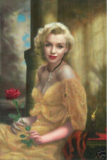 ZOPT99 PORTRAIT hand painted MARILYN MONROE ART OIL PAINTING ON CANVAS