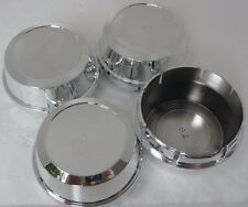 NEW 4x Center Caps Cup 64 mm Wheel Hub Cover Chrome Finished Free Enkei Sticker