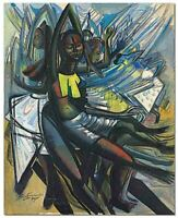 Ben Enwonwu : Untitled : Archival Quality Art Print