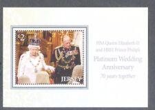 Jersey-Queen Elizabeth II Platinum Wedding Anniv November 2017-Royalty-small m/s