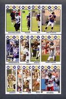 2008 Topps Baltimore Ravens TEAM SET - MINT Joe Flacco ROOKIE