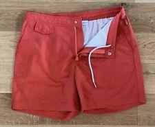 "Orlebar Brown Classic Burnt Orange Swim Shorts 32"" Waist Bulldog Length New 🇬🇧"