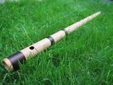 Bamboo Flute (bansuri) C# 440Hz (just intonation) 86cm handmade original