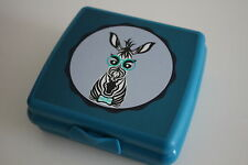 Tupperware Sandwichbox Zebra Sandwich-Box Lunchbox Brotdose Zebra Motiv NEU