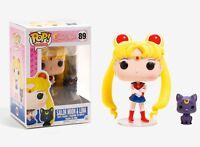 Funko Pop Animation: Sailor Moon - Sailor Moon & Luna Vinyl Figure Item #6350