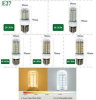 E27 B22 GU10 E14 G9 Lumiere Ampoule AC 5730 SMD LED Lampe Maïs Blanc 360° Bulb