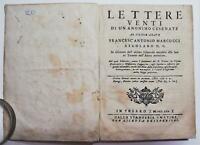 Settecentina Sacerdozio al primogenito Lettere venti di un anonimo Cesenate 1770