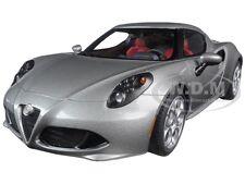 ALFA ROMEO 4C METALLIC GREY 1/18 MODEL CAR BY AUTOART 70187