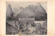 BT15235 Saorge et ses anciens chateaux Forts          France