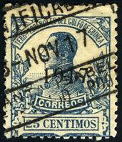GUINEA 117 USADO ALFONSO XIII