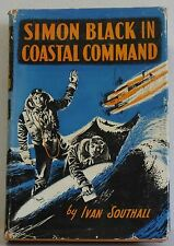 Simon Black In Coastal Command Ivan Southall Signed 1st Dj Hb Rare Vintage book