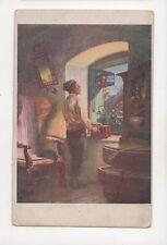Quido Manes Stary Mladenec Vintage Art Postcard 182b