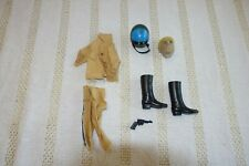 1979 MEGO CHIPS HIGHWAY PATROL OUTFIT BOOTS HELMET PISTOL ACCESSORIES EX/NM