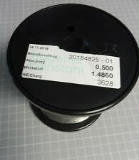1 kg Hagener Feinstahl Ø 0,50 mm NiCr 30-20  Schneidedraht Cutting wire