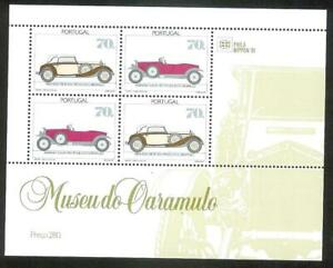 Portugal 1991 - Ancient Car Museum, Caramulo S/S MNH