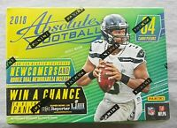 Panini Absolute Football Blaster 2018 Box NFL Trading Cards 1 Auto or Memo